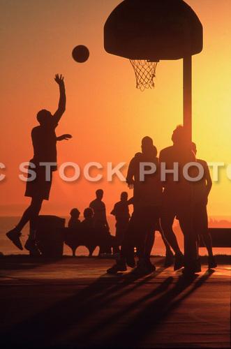 Basketball at Main Beach