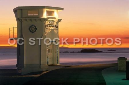 Laguna Beach Lifeguard Tower