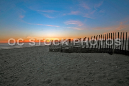 Southern California Sunset at the Beach