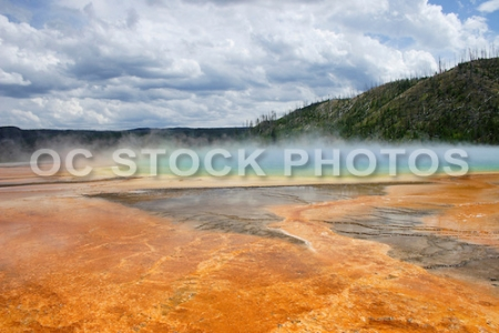 Grand Prismatic Spring of Yellowstone National Park CMF-3150a