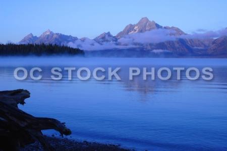 Jenny Lake at Grand Tetons National Park Wyoming