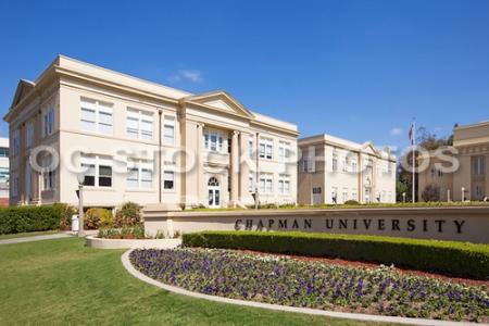 Bert Williams Mall at Chapman University in Orange California
